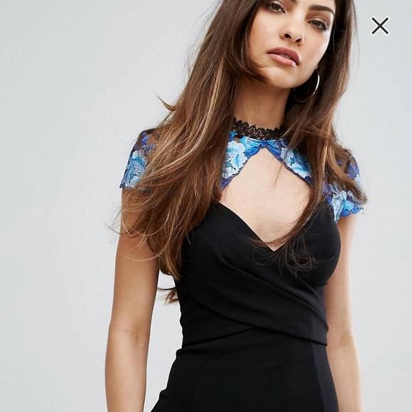 9bdda3d934e Lipsy Dresses   Gorgeous High Neck Lace Mesh Dress   Poshmark